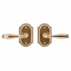 Rocky Mountain E005 Ellis Escutcheon with choice of Knob or Lever