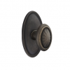 Emtek Parma Door knob with #14 Rose Medium Bronze Patina(MB)