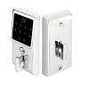 Emtek E3020 EMTouch Brass Keypad Deadbolt shown in Polished Chrome (US26)