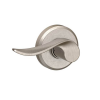 Schlage F10SAC619GSN Sacramento Passage Door Lever Set with Greyson Rose
