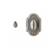 Rocky Mountain IP716 Arched Mortise Bolt with Emergency Release Trim