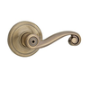 Kwikset Lido 730LL Privacy 5 Antique Brass