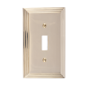 Brass Accents M02-S2500-605 Classic Steps Single Switch Plate