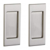 Baldwin Estate PD006.150.PASS Santa Monica Passage Sliding Pocket Door Set