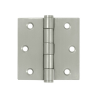 "Deltana SS35U32D-R 3-1/2"" x 3-1/2"" Square Corner Stainless Steel Hinge"