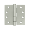 "Deltana SS44 4"" x 4"" Square Corner Stainless Steel Hinges (Pair) 0.129"" gauge"