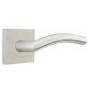 Emtek Dresden Door Lever with Square Rose Stainless Steel (SS)
