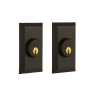 Nostalgic Warehouse STUDBL Studio Double Cylinder Deadbolt