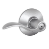 Schlage Accent F40 Acc Privacy 626 Satin Chrome
