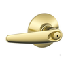 Schlage Jazz F40 Jaz Privacy 605 Bright Brass