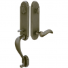 Emtek 451112 Remington Handleset with Cody Lever Medium Bronze Patina (MB)