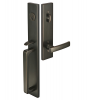 Emtek 4819 Lausanne Handleset with Geneva Lever Oil Rubbed Bronze (US10B)