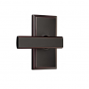 Weslock 3700P Utica Passage Oil Rubbed Bronze