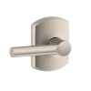 Schlage F10-BRW Broadway Lever with Greenwich Decorative Rose