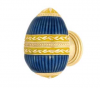 EmeneeFAB1000-MG Faberge Easter Egg Cabinet Knob in Museum Gold (MG)