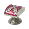 Emenee FAB1002-RS Faberge Parasol Cabinet Knob in Royal Silver