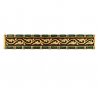 Emenee FAB1007-RG Faberge Picture Frame Cabinet Pull in Russian Gold (RG)