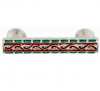 Emenee FAB1007-RS Faberge Picture Frame Cabinet Pull in Royal Silver (RS)