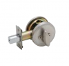 Dexter JD81 One Sided Deadbolt with plate 619 Satin Nickel