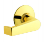 Schlage Commercial A Series Levon Passage Lever shown in Polished Brass (605)