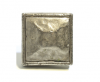 Emenee OR360 Small Hammered Square Edge Cabinet Knob