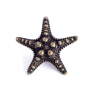 Emenee OR421 Sea Star Cabinet Knob in Antique Matte Copper (ACO)