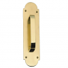 Brass Accents Palladian Traditional Pull Plate