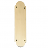 Brass Accents Palladian Traditional Push Plate