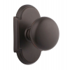 Emtek Providence Door Knob with #8 Rose Oil Rubbed Bronze (US10B)