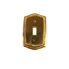 Brass Accents Rope Single Switch Plate