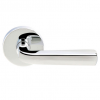 Emtek Sion Door Lever Set with Disk Rosette in Polished Chrome (US26)