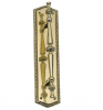 Brass Accents Trafalgar Pull Plate (Oval Rope)