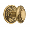 Emtek Victoria Door knob with Lancaster rose French Antique (US7)
