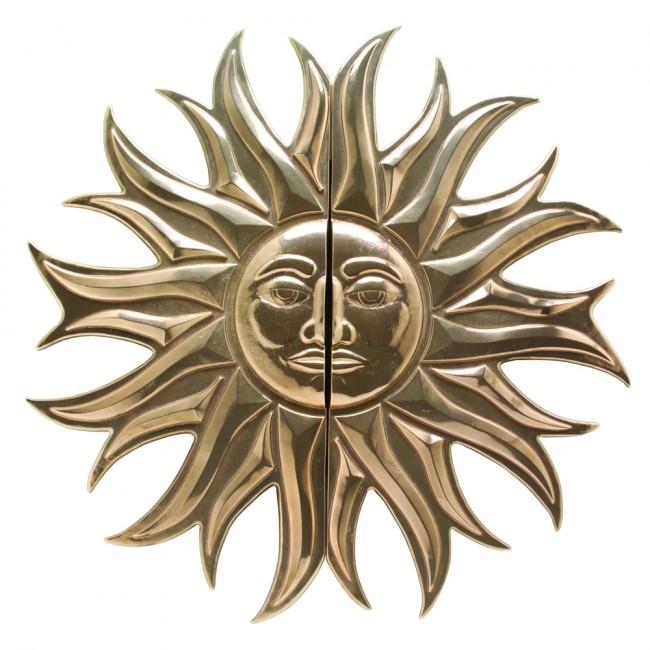 Rocky Mountain Sun Medallion Pull (G2636) 34 3/4