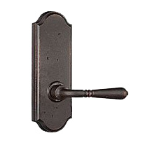 Weslock 7200Q Waterford Passage with Sutton Rose Oil Rubbed Bronze